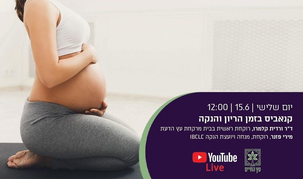 קנאביס בזמן הריון והנקה בסרטון שלפניכם