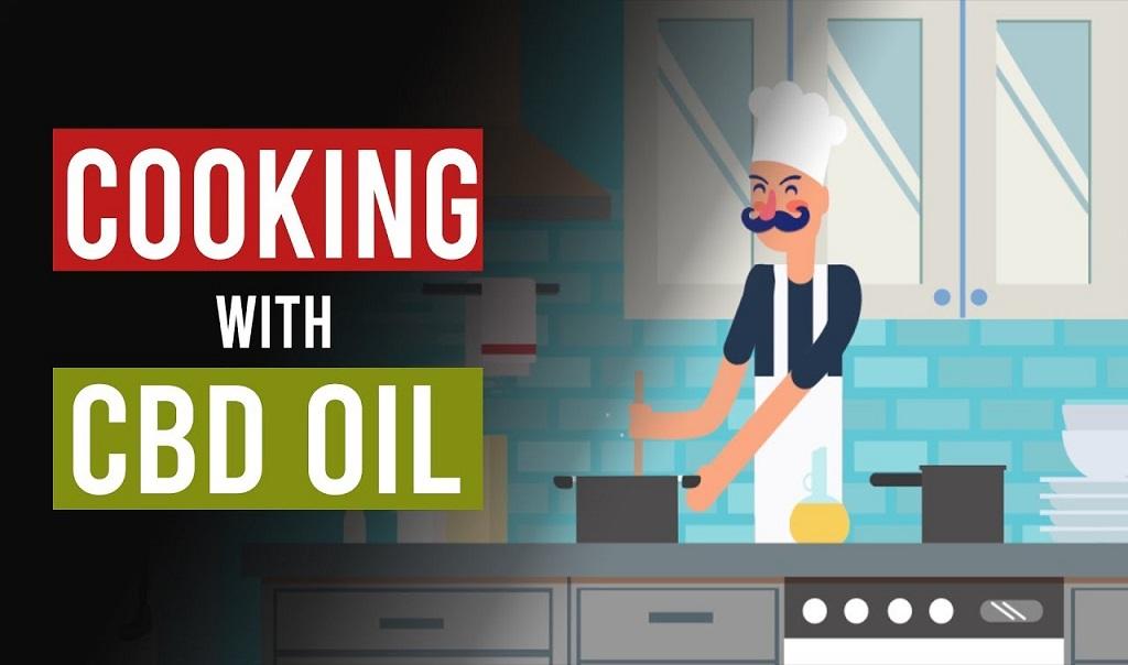 בישול עם שמן CBD